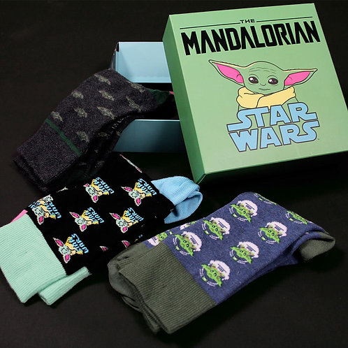 Pack 3 calcetines Yoda Child