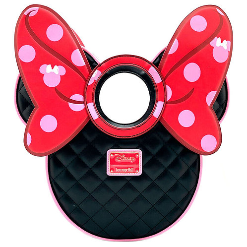 Bolso Pink Polka Dot Minnie Disney Loungefly