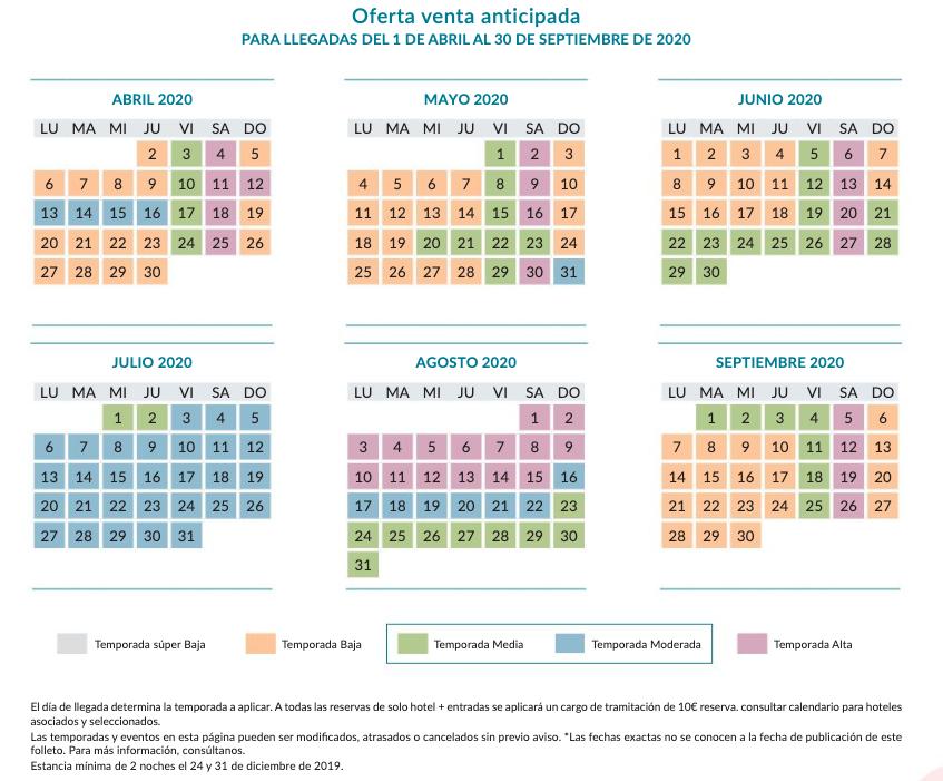 Calendario De Multitudes Disney 2019.Cuando Es Temporada Baja En Disneyland Paris