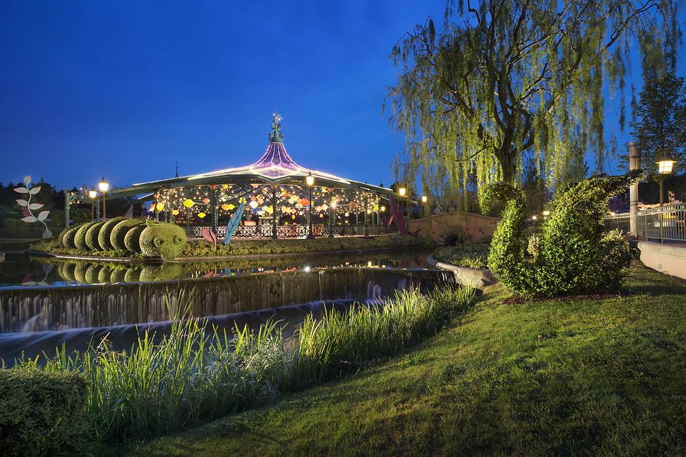 jardines disneyland paris