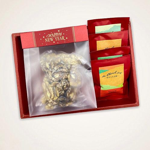 核桃、紅茶禮盒