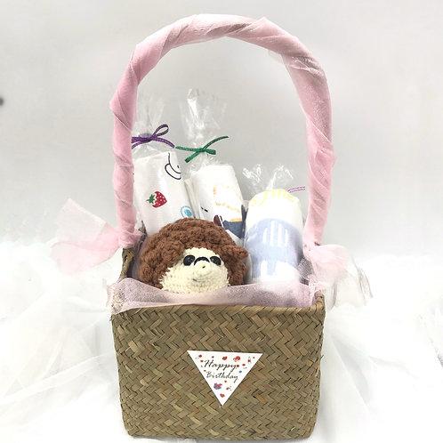 嬰兒禮品籃 - 刺蝟