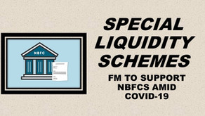 SPECIAL LIQUIDITY SCHEMES- FM TO SUPPORT NBFC's AMID COVID-19