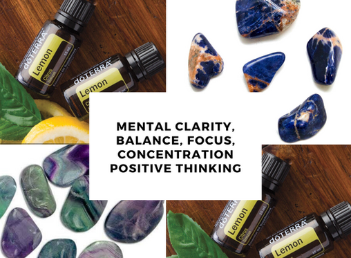 Lemon Essential Oil & Crystal Collection
