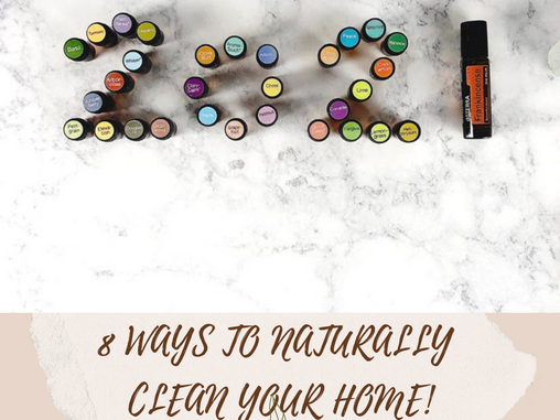 8 WAYS TO REDUCE THE TOXINS IN YOUR HOME!