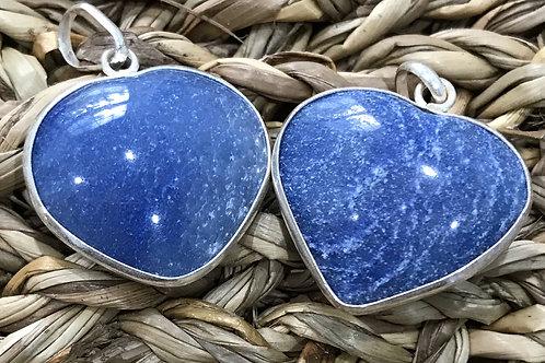 Lapiz Lazuli Heart Pendant