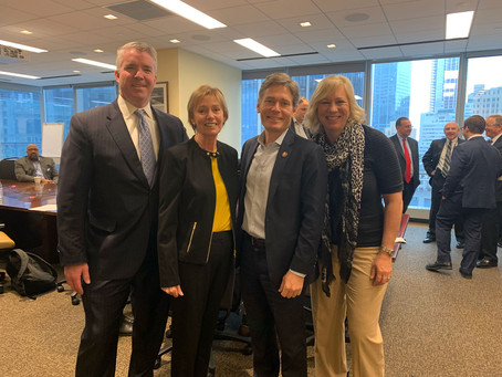 RVL Mayors representatives met with Congressman Tom Malinowski