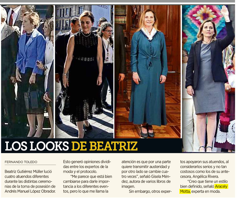 Los looks de Beatriz