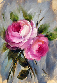 Two Pink English Roses