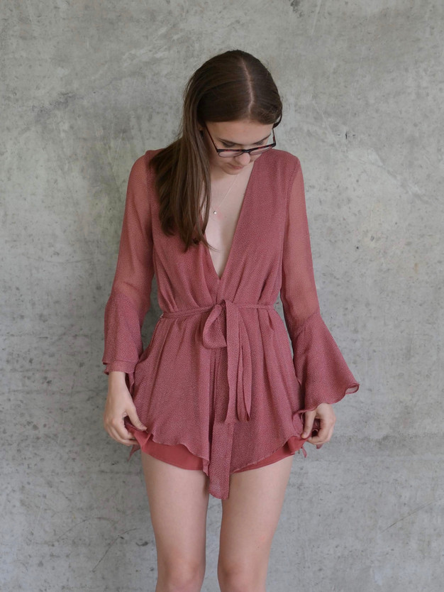 ROSEVILLE JEWEL PLAYSUIT