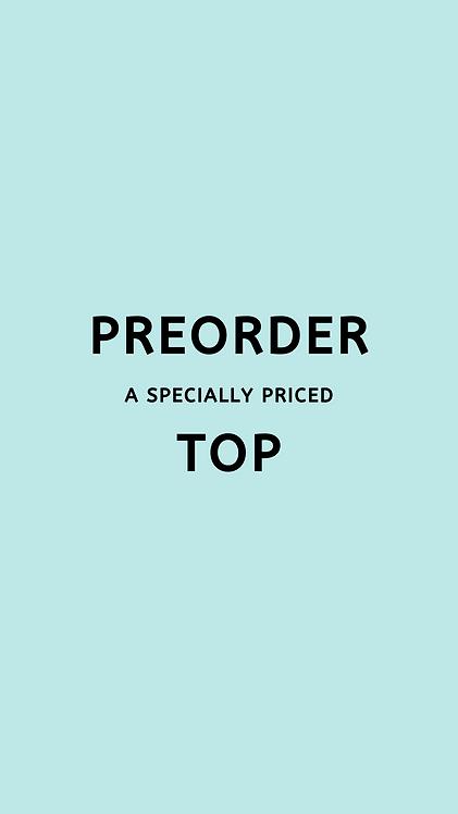 PREORDER a Purpose Bikini TOP