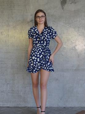 Daisy Frill Dress