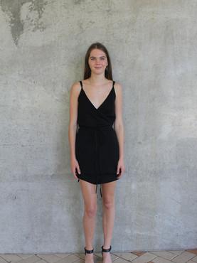 Ink Wrap Dress