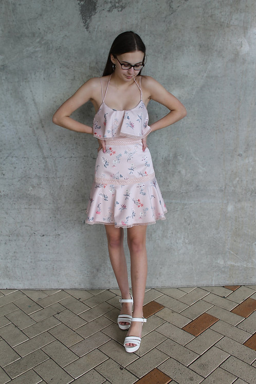 Rebecca Flounce Dress