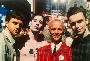with Vance Avery, Matt McGrath, and Joel Grey