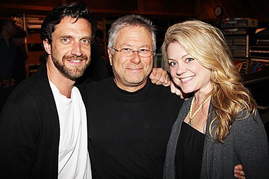 with Alan Menken and Kendra Kassebaum