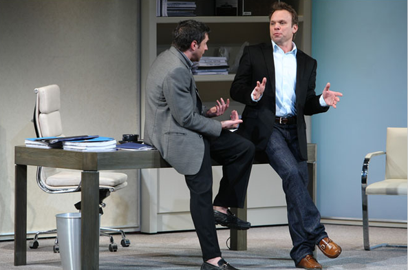 with Norbert Leo Butz (replaced Jeremy Piven)