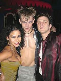 Raúl with Daphne Rubin Vega and Jonathan Sharp