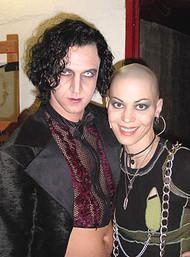 Raúl with Joan Jett
