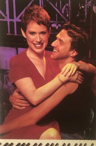 Raúl and Molly Ringwald