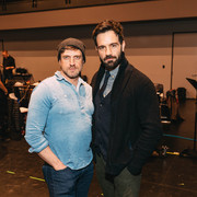 with Ramin Karimloo