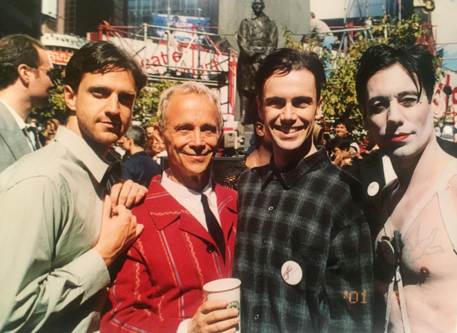 with Joel Grey, Matt McGrath, and Vance Avery
