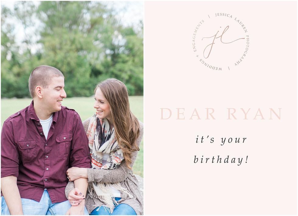 HAPPY BIRTHDAY, RYAN