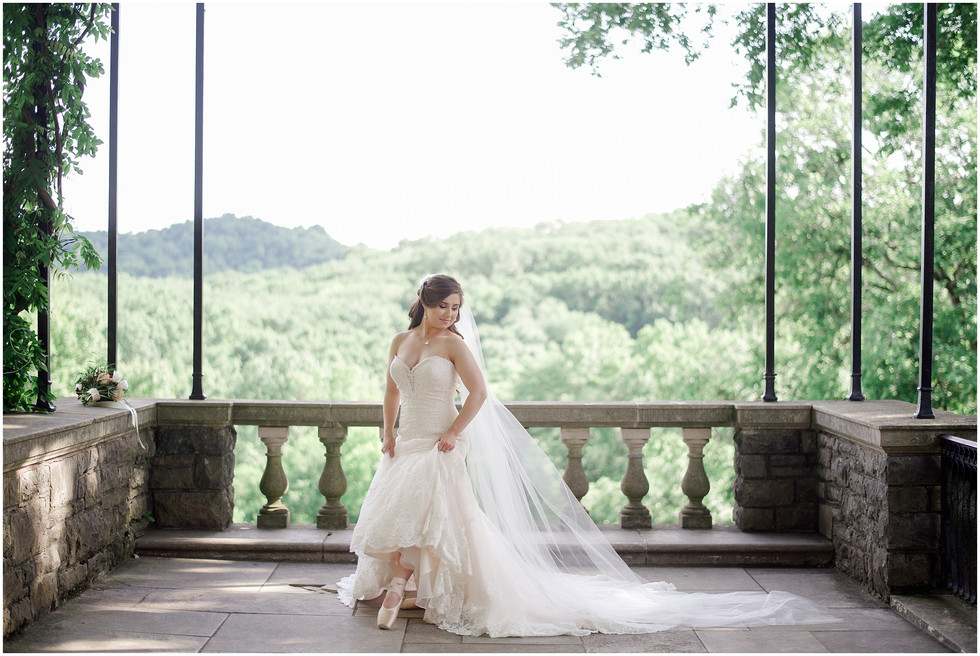 ROMANTIC BRIDAL SESSION AT CHEEKWOOD