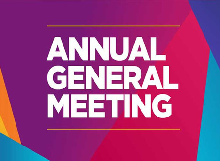 Join our AGM on Monday, November 18!