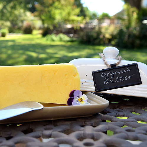 Grass Fed Organic Cultured Butter