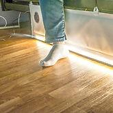 Prévention du risque de chute par la lumière