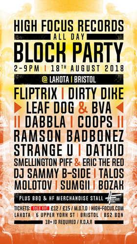 Dabbla & Sumgii @ HF BLOCK PARTY, Lakota, Bristol