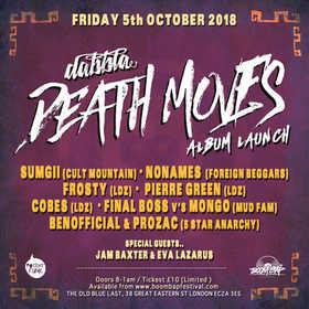 DEATH MOVES ALBUM LAUNCH 5th October 2018