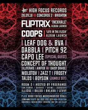 Dabbla & Frosty @Concorde2 Brighton 28th September 2018