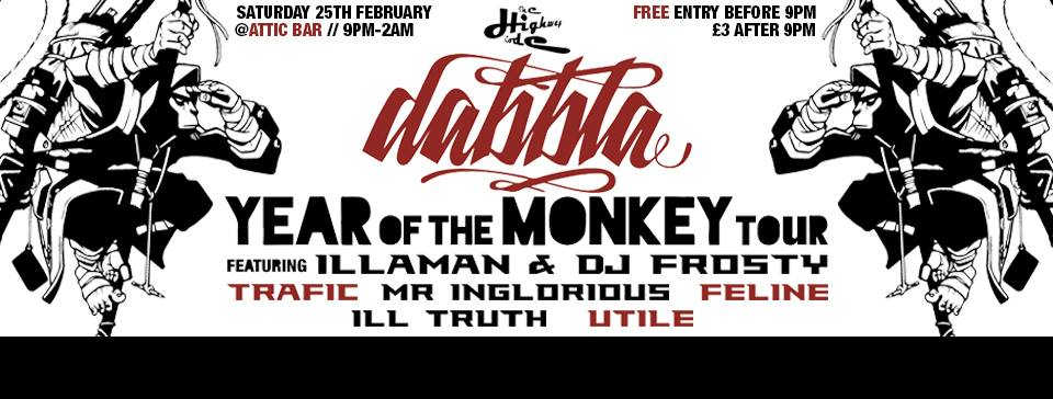 Dabbla @TheAttic Bristol Feb 2016
