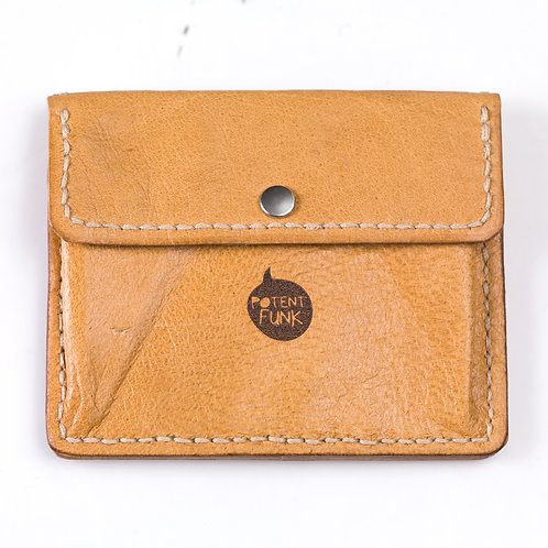 Hand-made Leather Card Holder