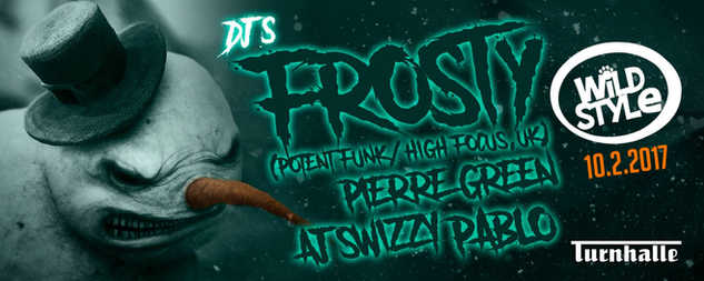 Pierre Green & Frosty, Bern, Switzerland Febuary 2018 @Turnhalle