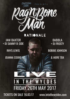 Dabbla supporting Rag'n'Bone Man 2017 @IntoTheWyldes