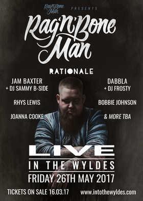 Dabbla supporting Rag'n'Bone Man 2017 @IntoTheWyldes