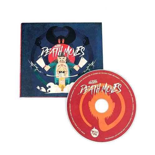 Personalised Death Moves CD (Signed)