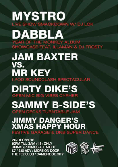 Dabbla Cambridge December 2016