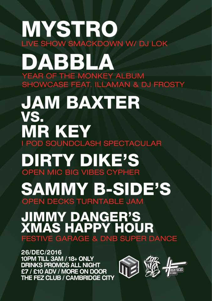 Dabbla Cambridge December 2016