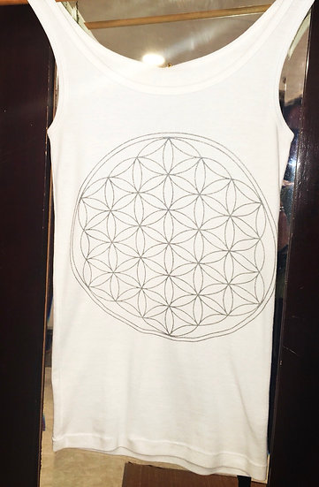 Camiseta Mod. Flor Vida