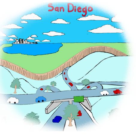 ¿Que tanto nos divide la frontera entre San Diego y Tijuana?