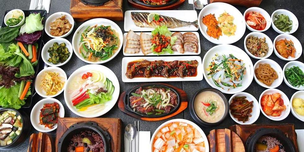 International Lunch: Korean Food