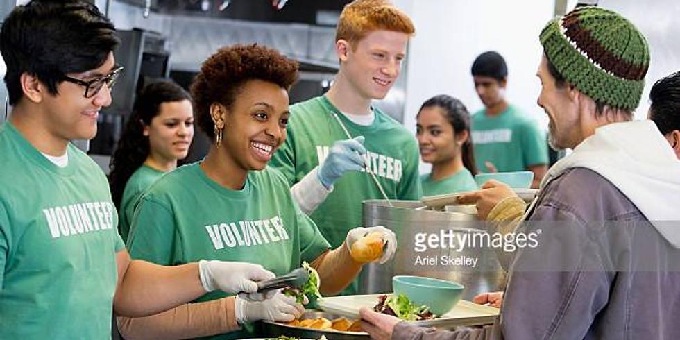 Volunteering at Serving Seniors