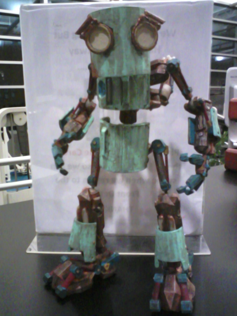 Robot lives! Kinda...