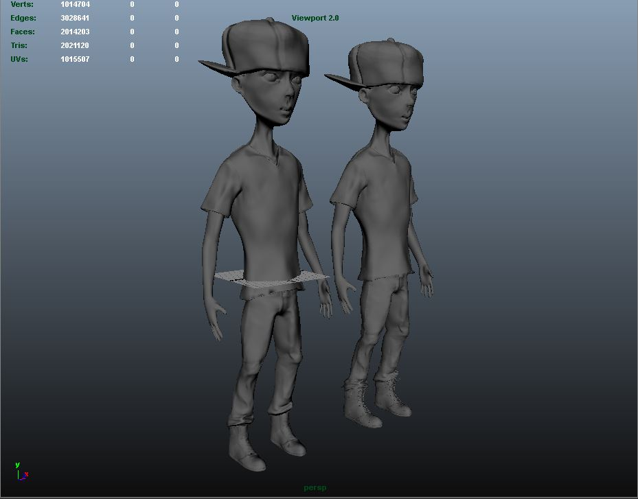 Animation Character Asset