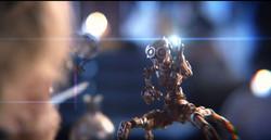 Robot discovers magic