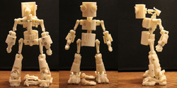Robot Prepainted Orthographic View